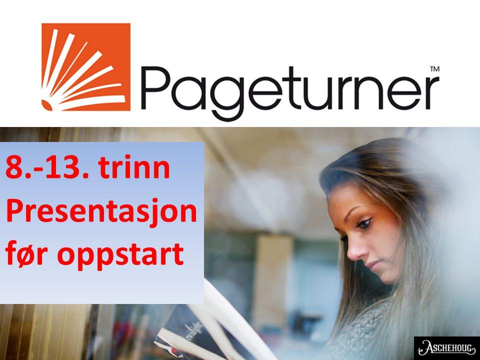 EN NORSK OPPFINNELSE 8.-13. trinn Presentasjon før oppstart
