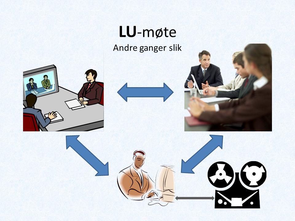 LU -møte Andre ganger slik