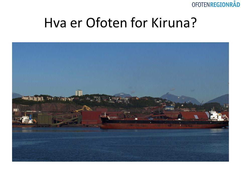 Hva er Ofoten for Kiruna?