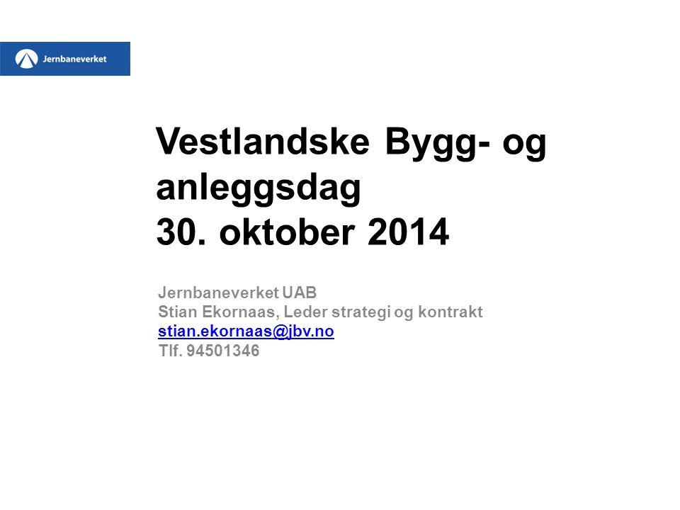 Vestlandske Bygg- og anleggsdag 30.