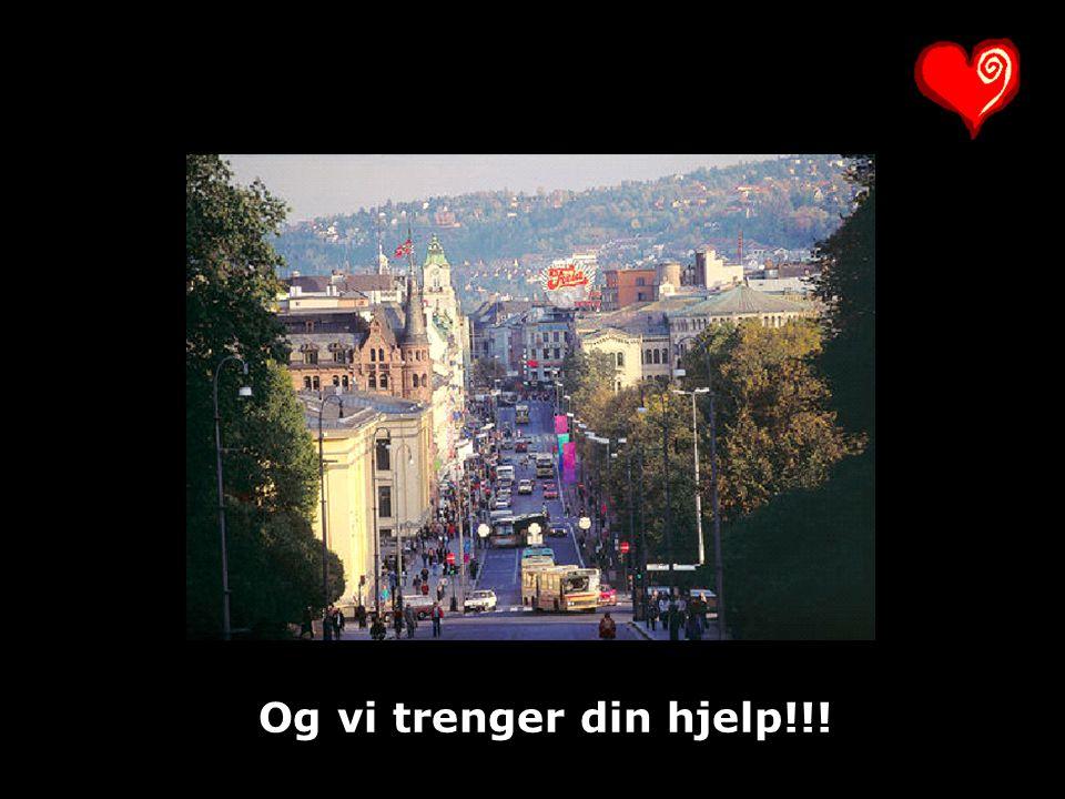 Og vi trenger din hjelp!!!