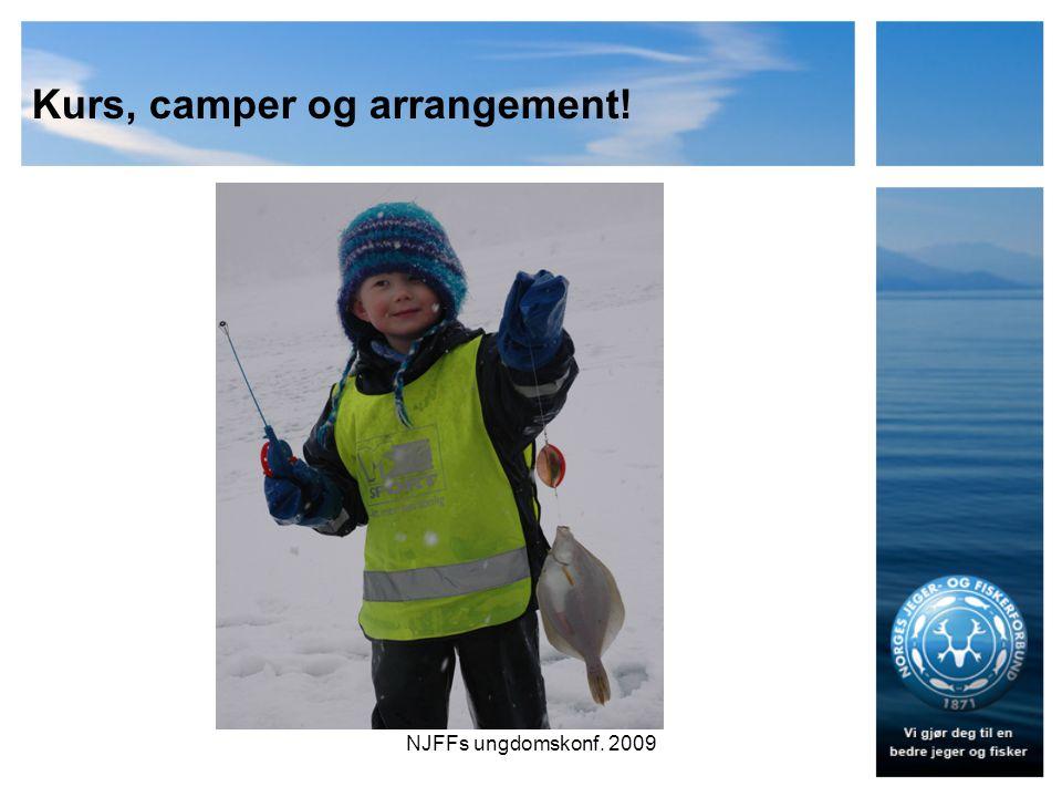 Kurs, camper og arrangement! NJFFs ungdomskonf. 2009