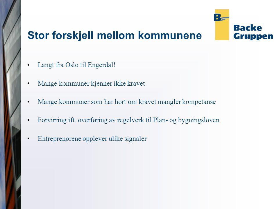 Stor forskjell mellom kommunene Langt fra Oslo til Engerdal.
