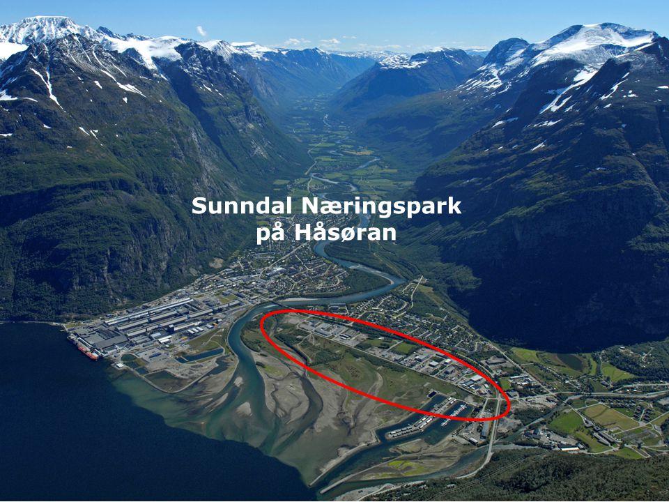 Sunndal Næringspark på Håsøran