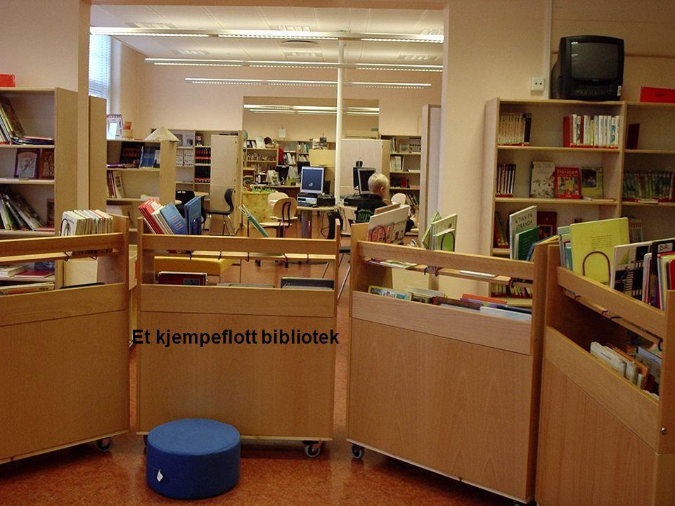 Et kjempeflott bibliotek