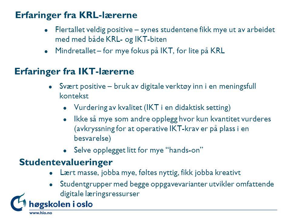Høgskolen i Oslo Matematikk/IKT: Formeleditor og tegneverktøy