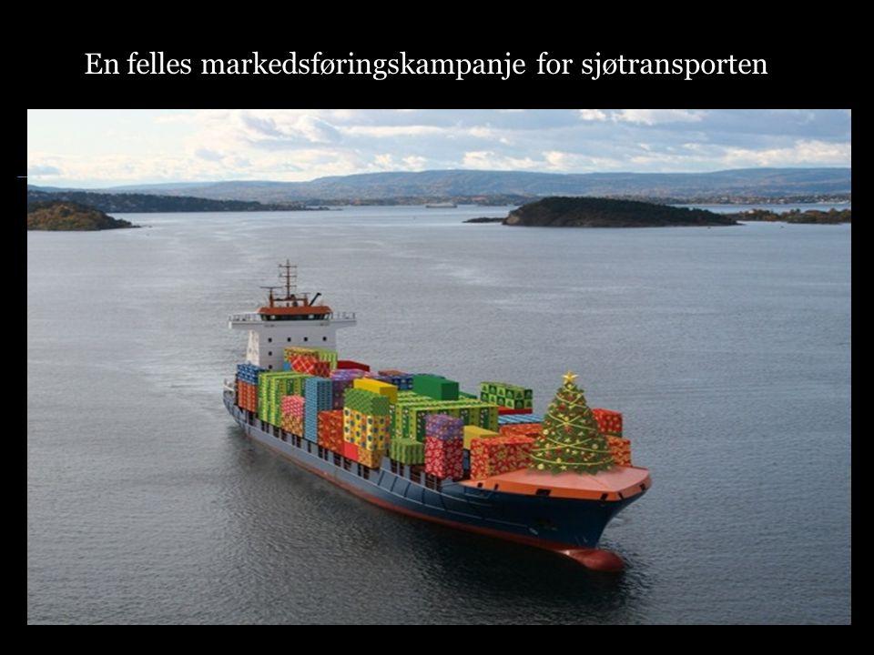 En felles markedsføringskampanje for sjøtransporten