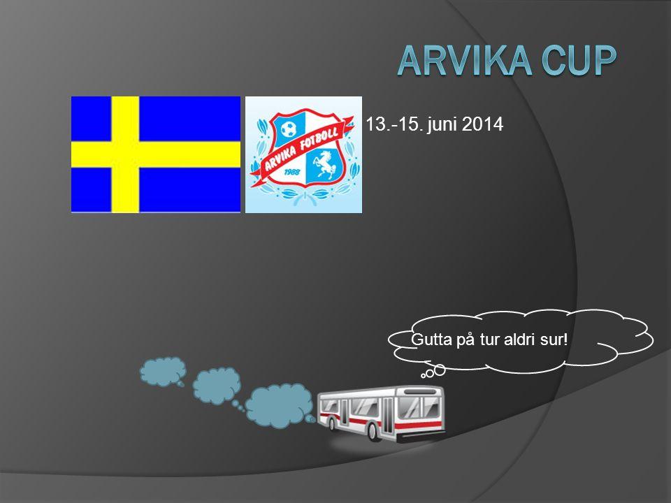 13.-15. juni 2014 Gutta på tur aldri sur!