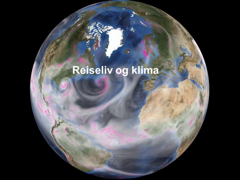 www.vestforsk.no Regjeringens politikk overfor reiseliv og klima Norsk klimapolitikk St.m.