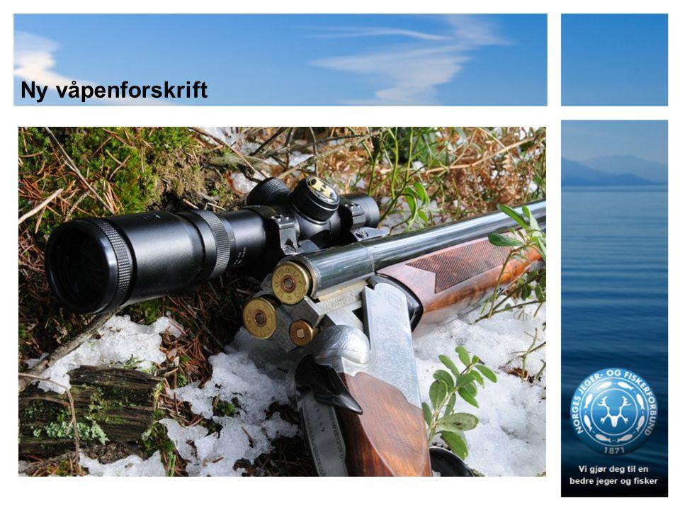 Ny våpenforskrift