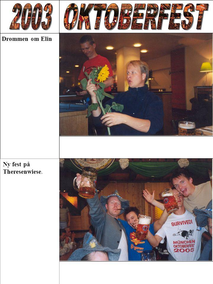 Drømmen om Elin Ny fest på Theresenwiese.