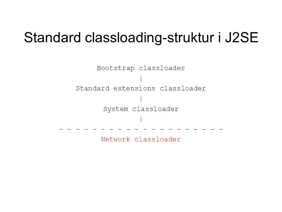 Class-filen: Generelt Inneholder definisjonen av én klasse eller interface.