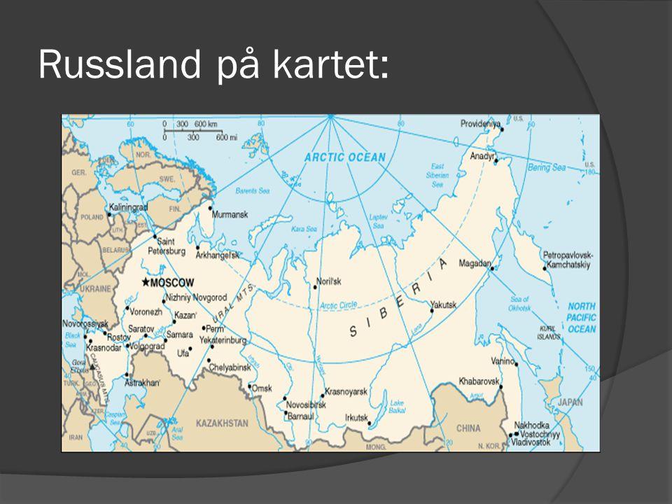Russland på kartet: