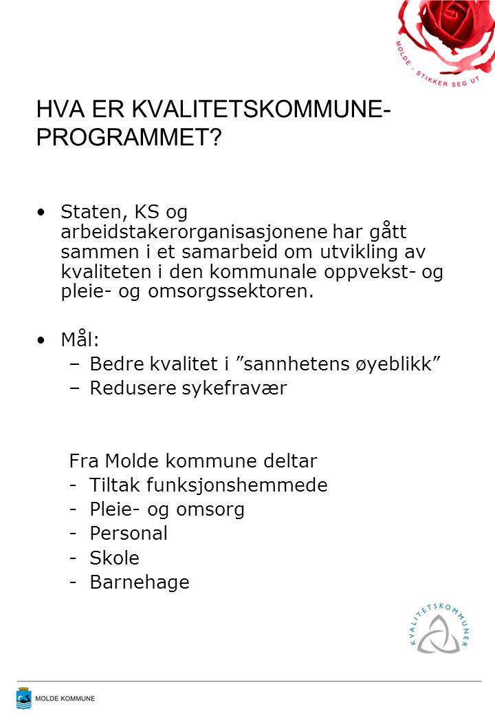 HVA ER KVALITETSKOMMUNE- PROGRAMMET.