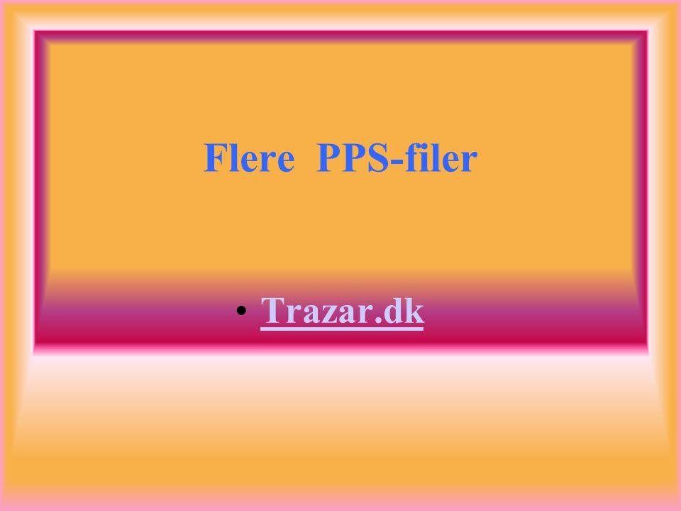 Flere PPS-filer Trazar.dk