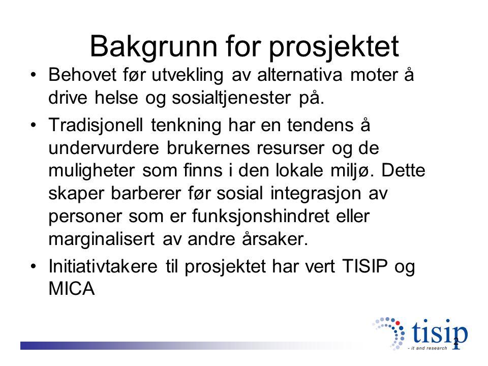 13 Liste over delprosjekter LOFOTA: Vidareutvikling av et personalkooperativ i Östersund Kommune Vidareutvikle MICA:s virksomhet, gjennom at starte et nytt steg 2 gruppe ute på et jordbruksforetak.