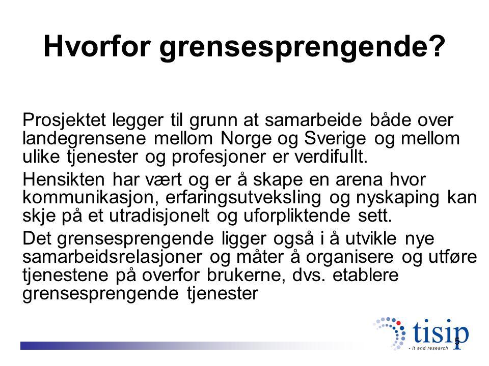 6 Visjon Bidra til å utvikle virksomheter med alternative driftsformer innenfor helse- og sosialtjenestene i og på tvers av grensene i Midt-Norge og Midt Sverige.