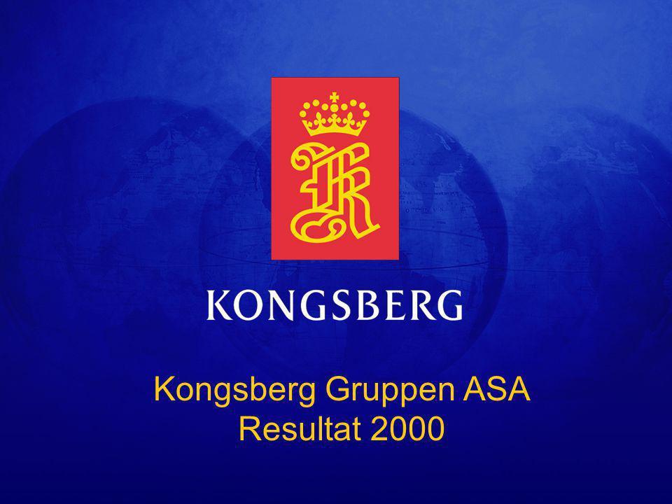 Kongsberg Gruppen ASA Resultat 2000