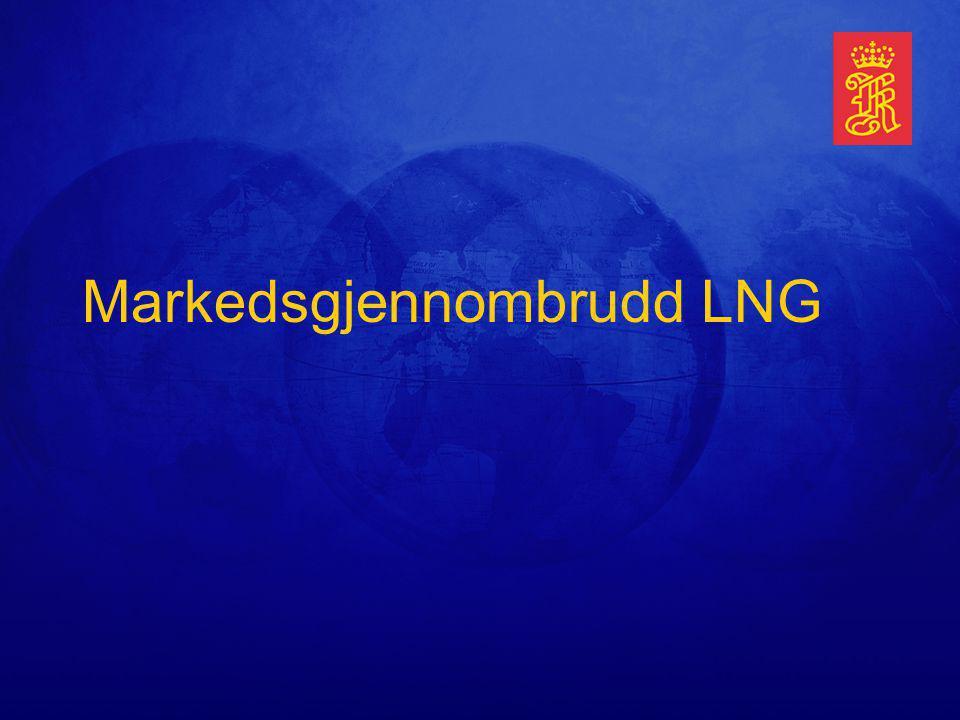 Markedsgjennombrudd LNG