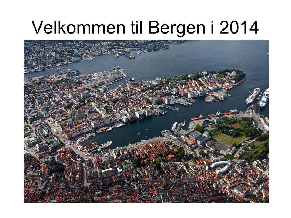 Velkommen til Bergen i 2014