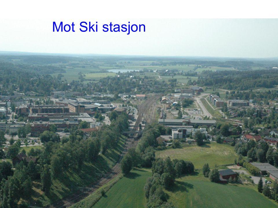 ° Planprogram Follobanen| 17.02.2010 Mot Ski stasjon