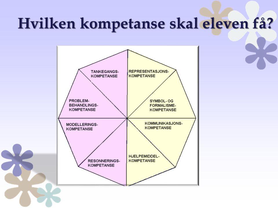 Hvilken kompetanse skal eleven få?