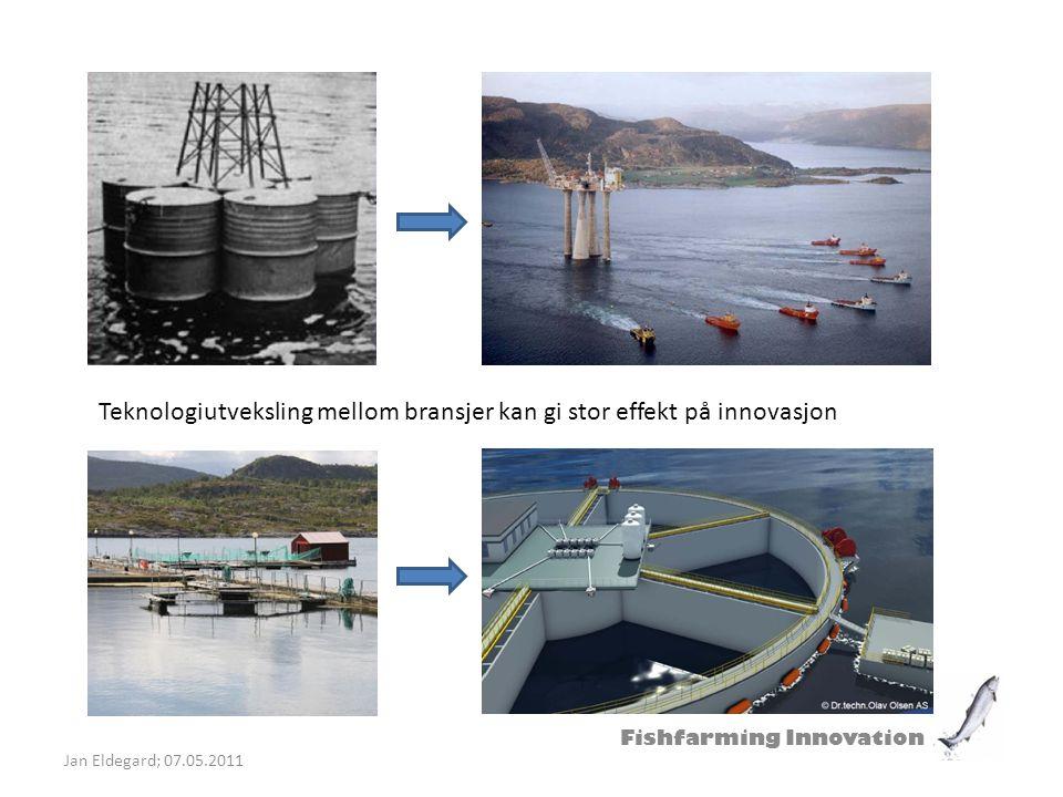 Fishfarming Innovation Jan Eldegard; 07.05.2011 Mindre anlegg, mellomstasjon for smolt eller behandlingsanlegg