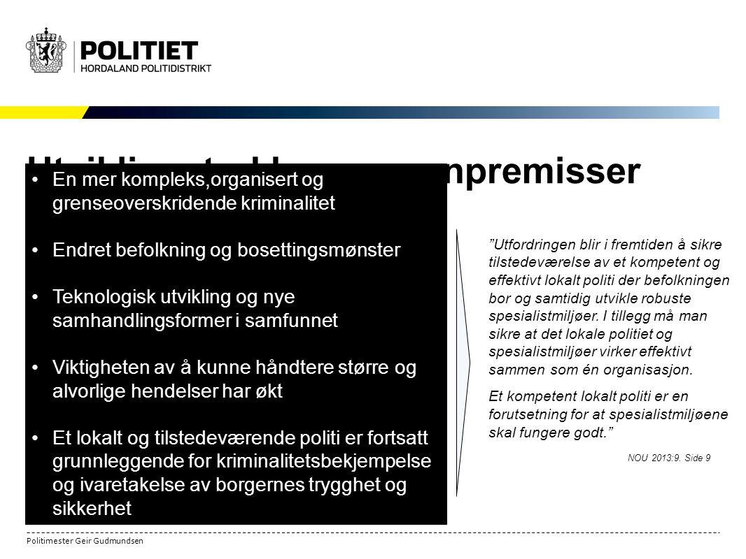 tjenestesteder norsk politi