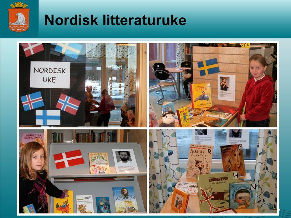 www.alesund.kommune.no Nordisk litteraturuke