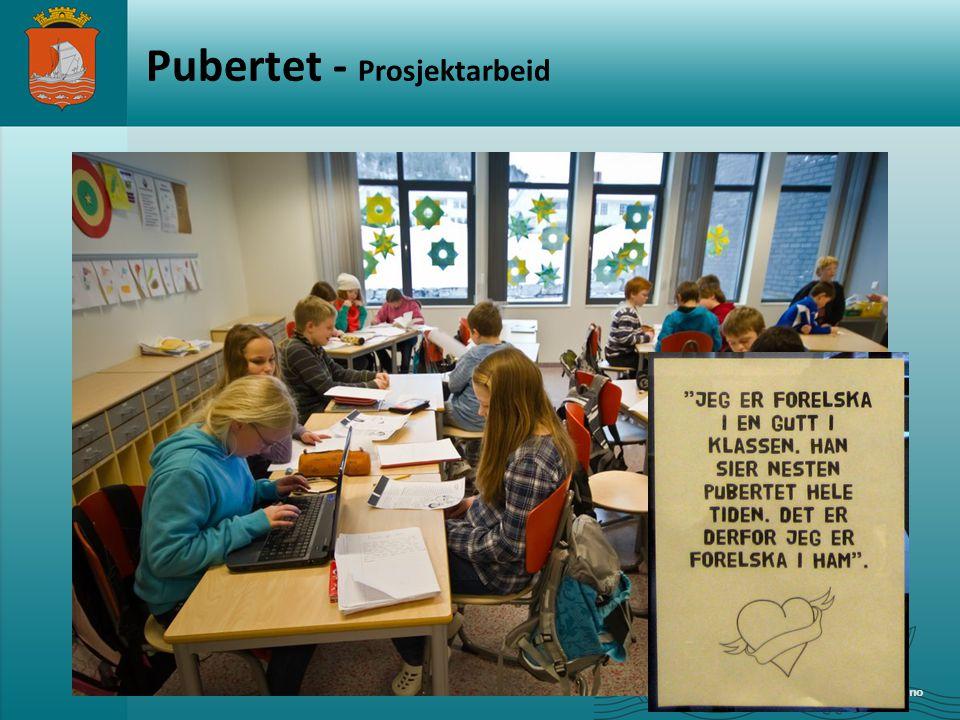 www.alesund.kommune.no Pubertet - Prosjektarbeid