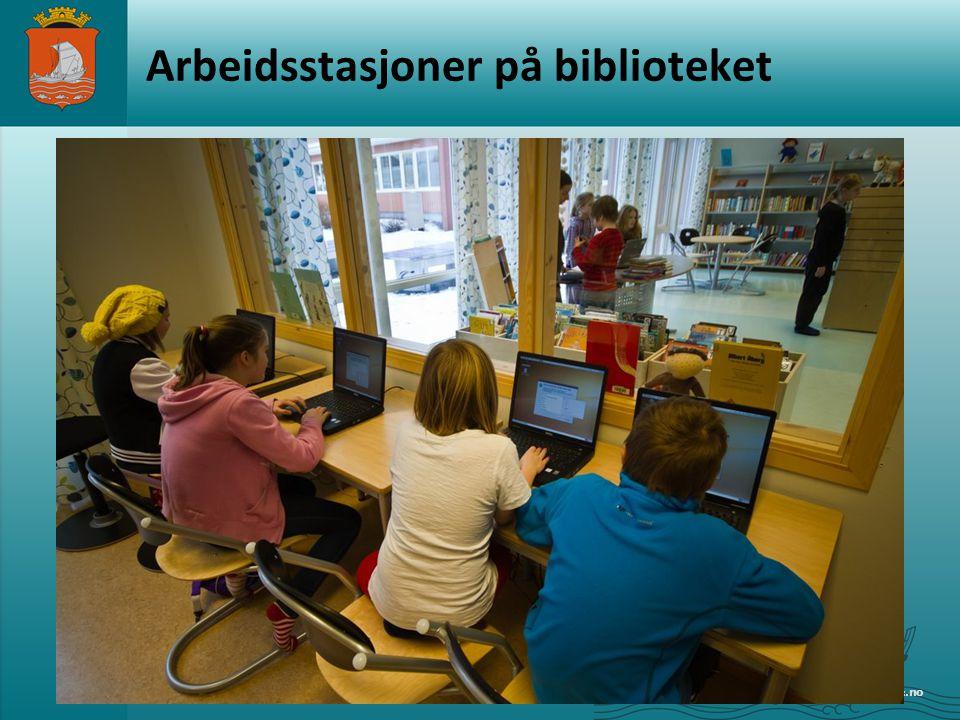 www.alesund.kommune.no Arbeidsstasjoner på biblioteket