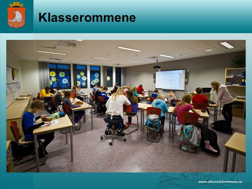 www.alesund.kommune.no Klasserommene