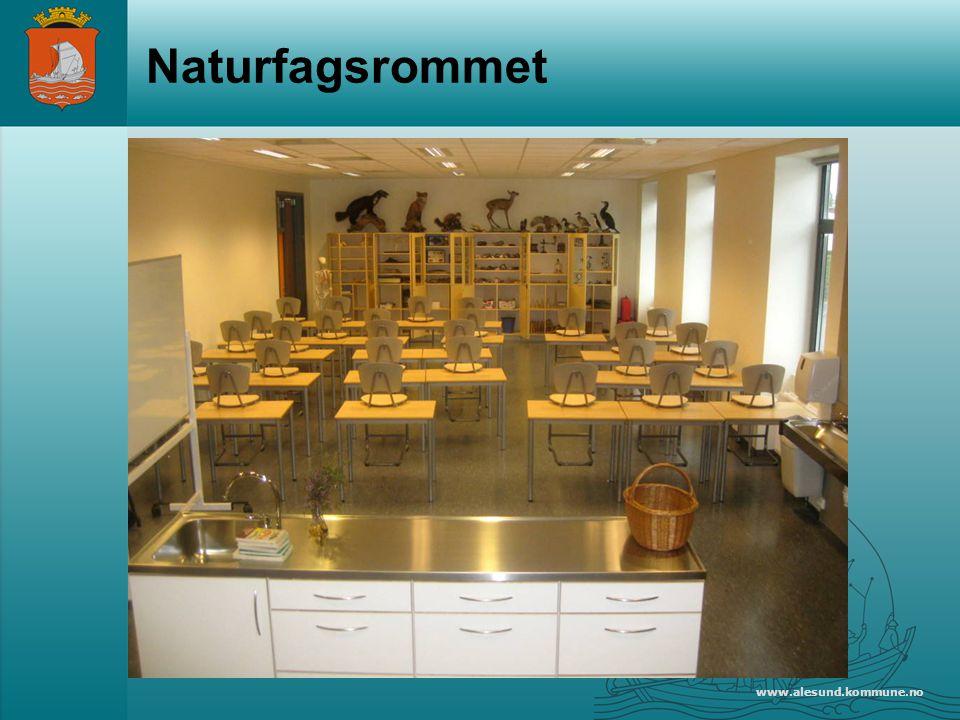 www.alesund.kommune.no Naturfagsrommet