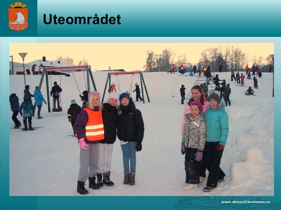 www.alesund.kommune.no Uteområdet