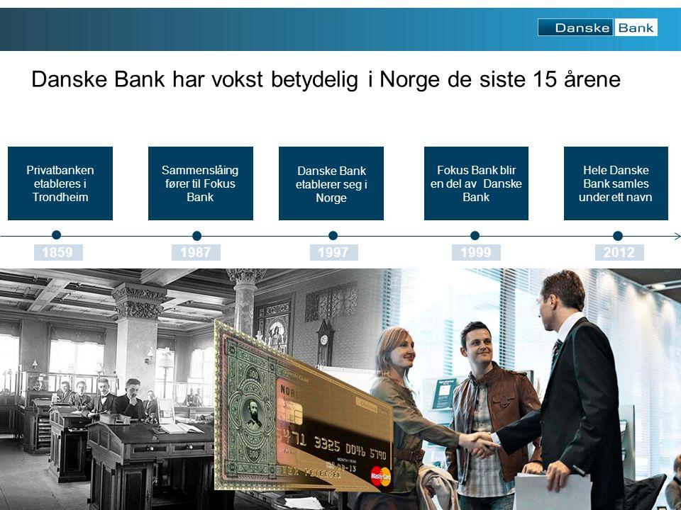 4 Solid forankret i Norge Utvikling i overskudd 1999-2012 Utvikling i innskudd og utlån 1999-2012