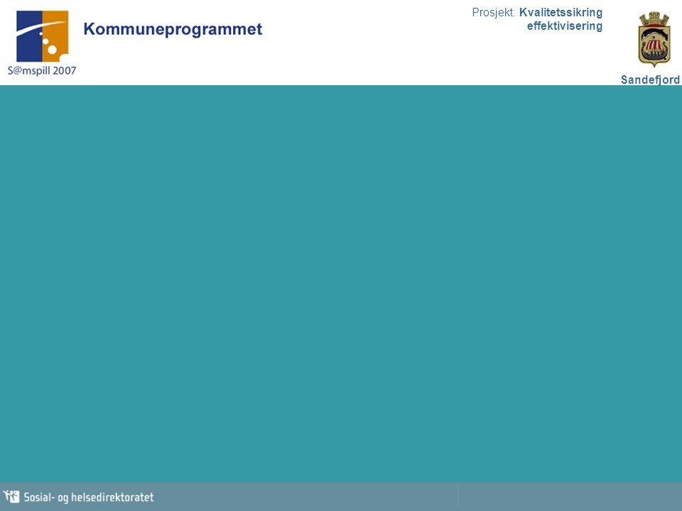 Prosjekt: Kvalitetssikring effektivisering Sandefjord