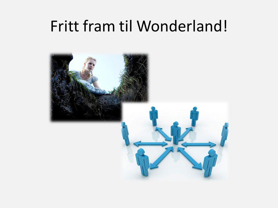 Fritt fram til Wonderland!