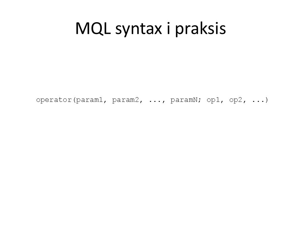 Vår metode: Tainting Dependencies Basert på Loop lifting Prøver å unngå denormalisering vha: – Indeksering av sekvenser – Symboltabell for variabler – iterator dependency inheritance – iterator dependency tainting