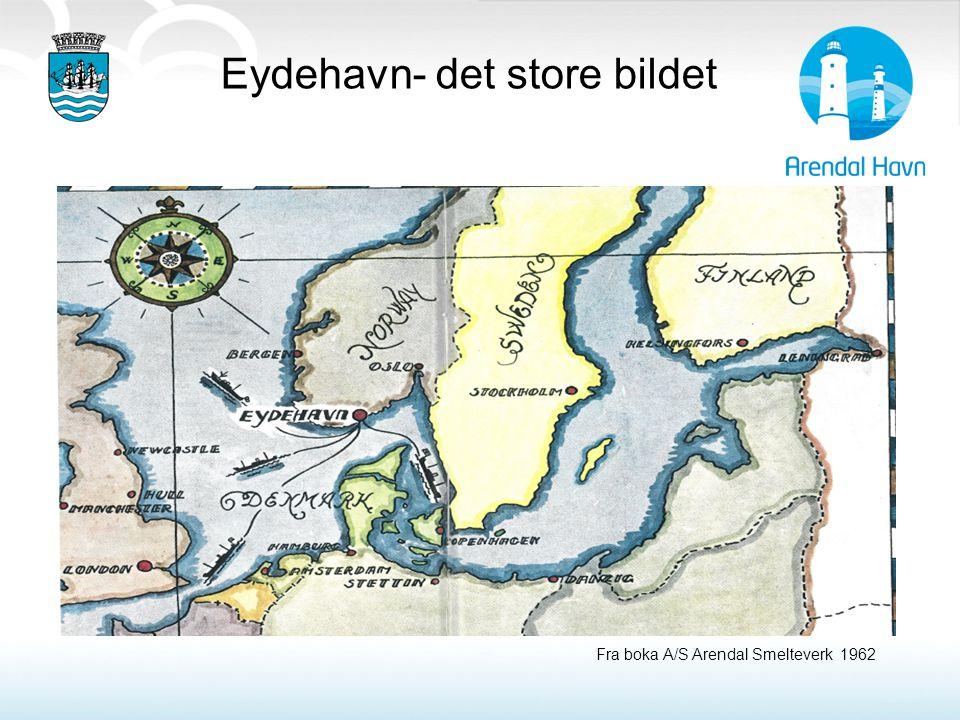 Eydehavn- det store bildet Fra boka A/S Arendal Smelteverk 1962