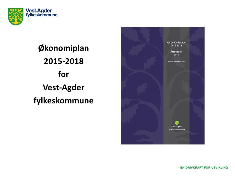 Økonomiplan 2015-2018 for Vest-Agder fylkeskommune