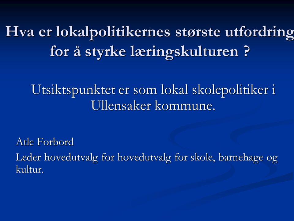 Ullensaker kommune (1) Vertskommune for Gardermoen flyplass Vertskommune for Gardermoen flyplass 25 000 innbyggere 2005 – i 2008 prognose 28 000.