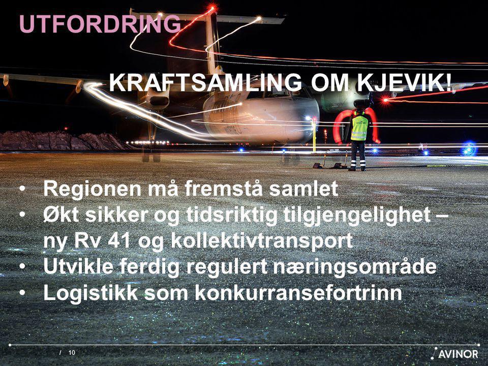 /10 UTFORDRING KRAFTSAMLING OM KJEVIK.