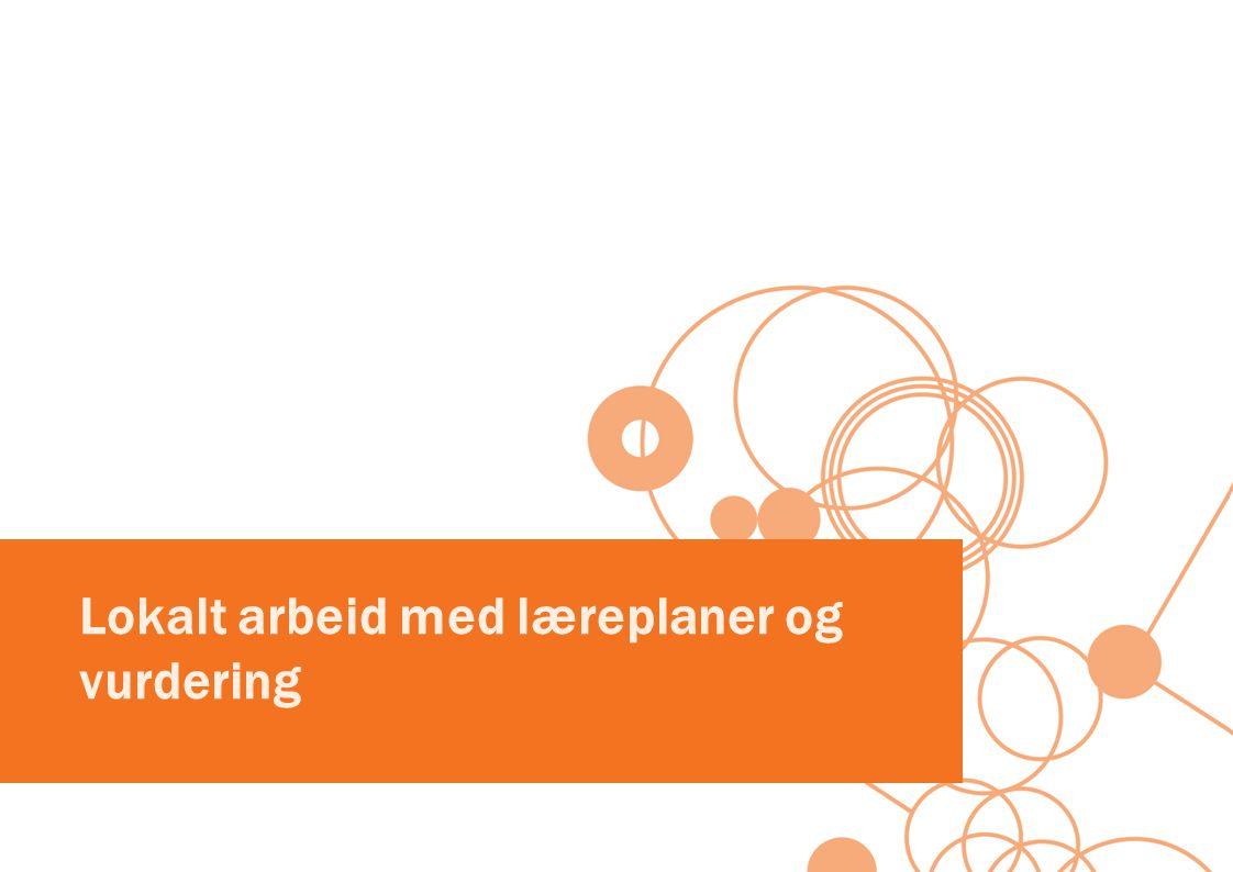 Læreplanforståelse og kompetanse i fag som grunnlag for planlegging av opplæring og vurdering.