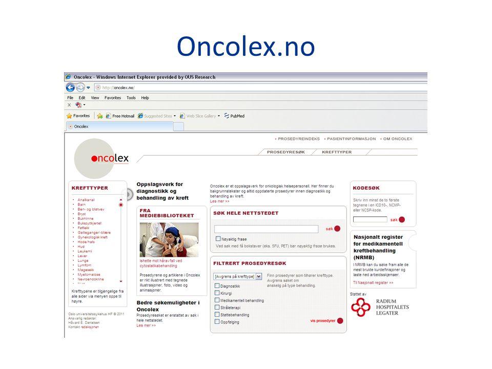Oncolex.no