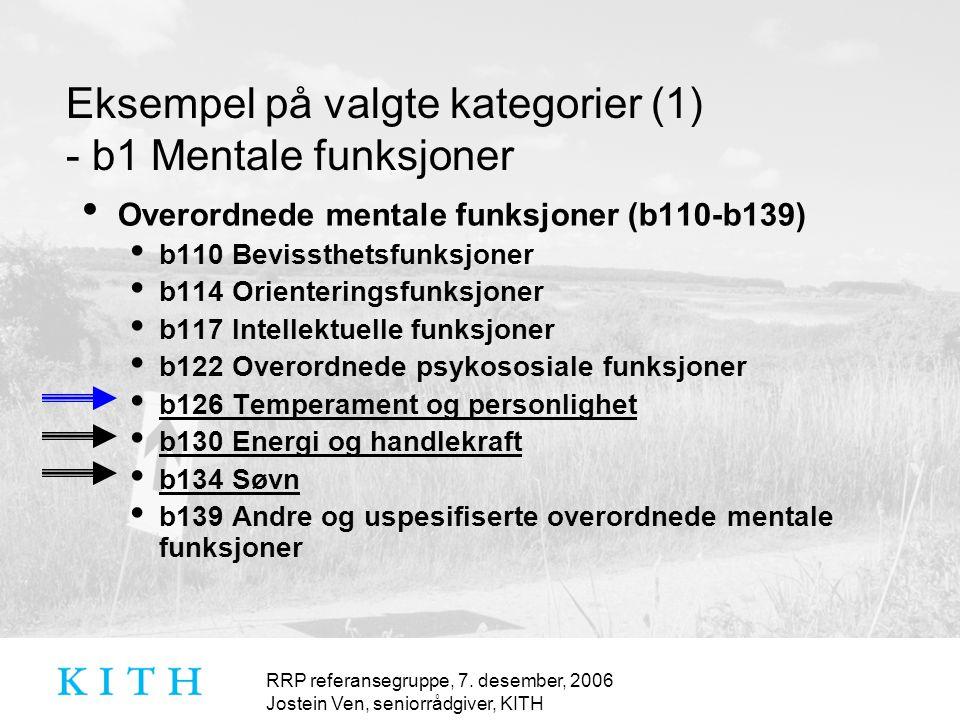 RRP referansegruppe, 7.
