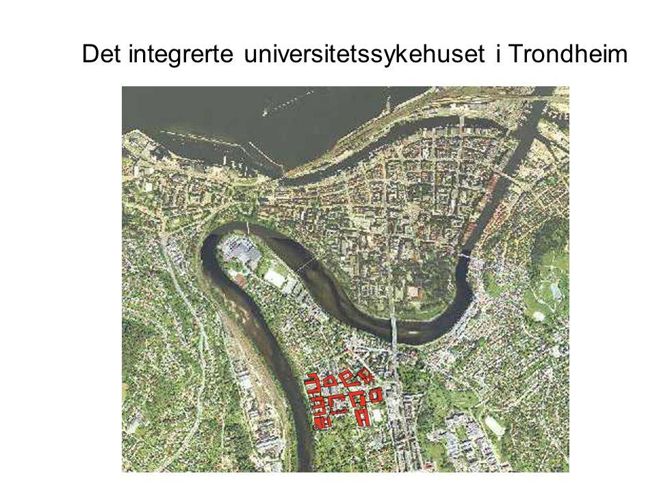 Det integrerte universitetssykehuset i Trondheim