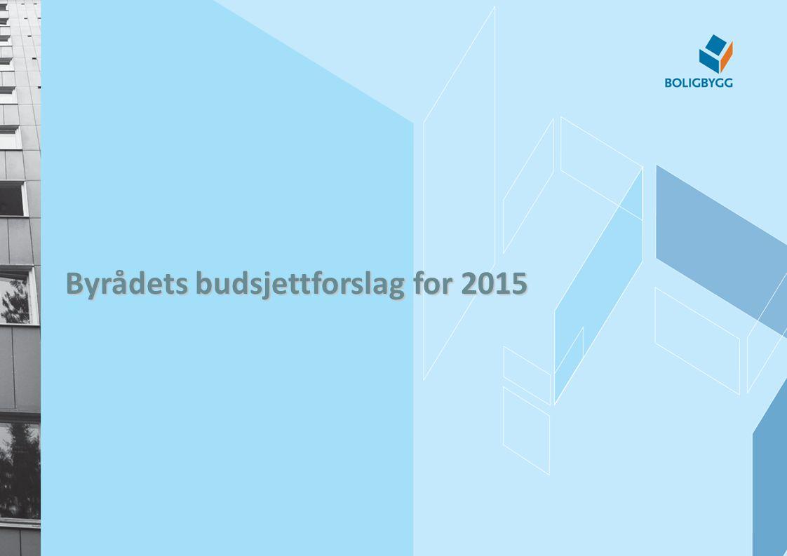 Byrådets budsjettforslag for 2015