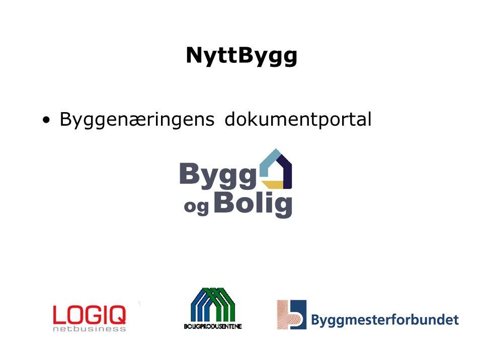 NyttBygg Byggenæringens dokumentportal