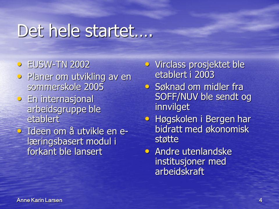 Anne Karin Larsen4 Det hele startet….