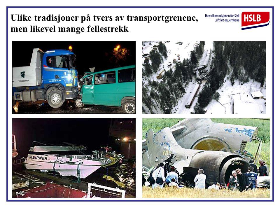 Ulike tradisjoner på tvers av transportgrenene, men likevel mange fellestrekk